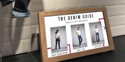 "Bild: Screen mit ""Denim Guide""; copyright: iq! Studios"