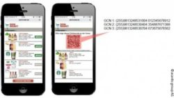 Bild:QR-Code in einem mobilen Coupon; copyright: acardo group AG