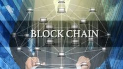 Picture: virtual blockchain; copyright: PantherMedia Stock Agency  / Tzido