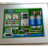 """15"""" TFT monitor, resistive touch-screen"""