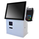 "Leo 15D - 15"" Dual Screen Self Check-out Kiosk"