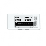 2.9 inch E-paper shelf label ESL electronic price tags for supermarket