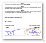 The Electronic Signature