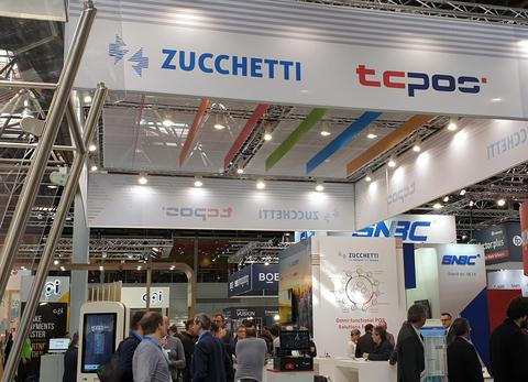 TCPOS Zucchetti EuroCIS 2019 Messestand