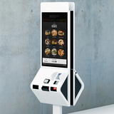Quick and self service kiosk